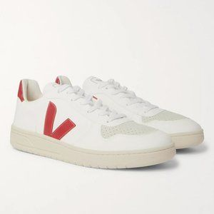NEW! VEJA V-10 CWL Faux Leather Sneakers